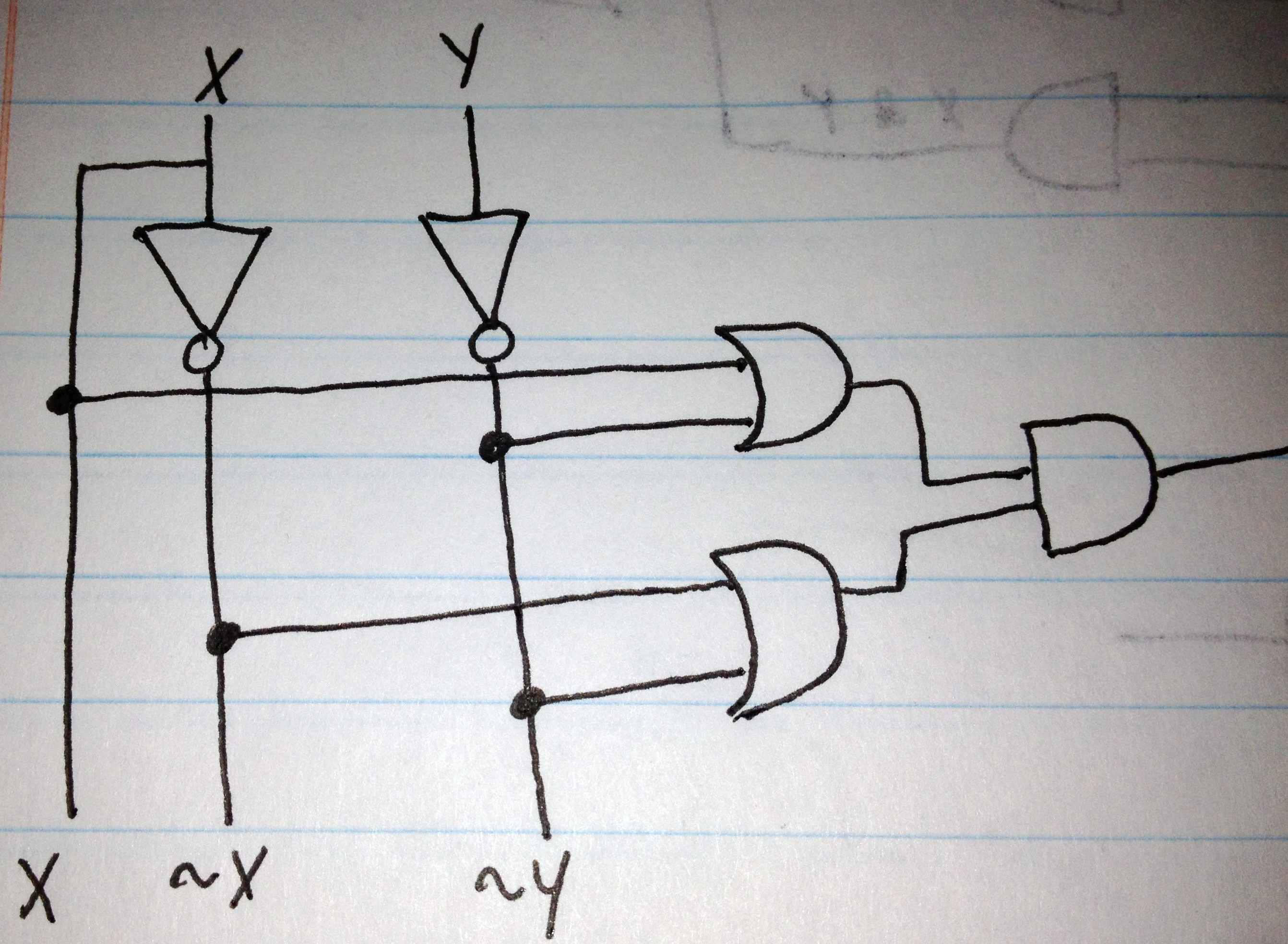 Chapter 2 Basic Logic Gates Computer Science Courses Diagram Truth Table 210 By Making A Show That